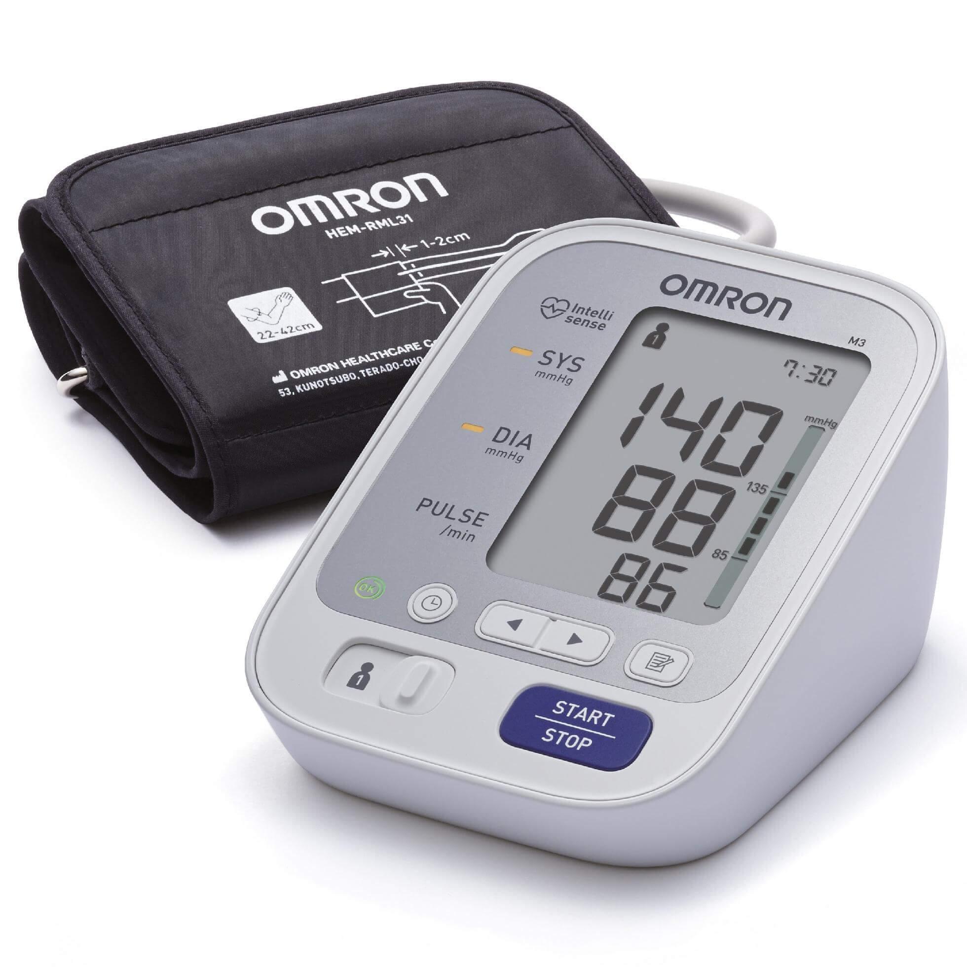 OMRON M3 Πιεσόμετρο Μπράτσου φαρμακείο   πιεσόμετρα   θερμόμετρα   ηλεκτρικές συσκευές   πιεσόμετρα