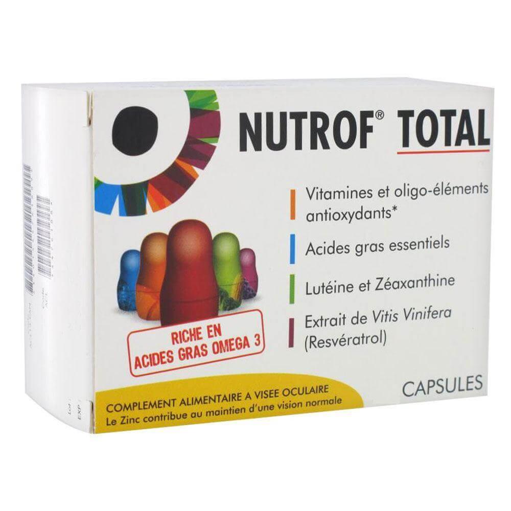 Thea Nutrof Total Συμπλήρωμα Διατροφής για Οφθαλμικές Παθήσεις 30 Κάψουλες