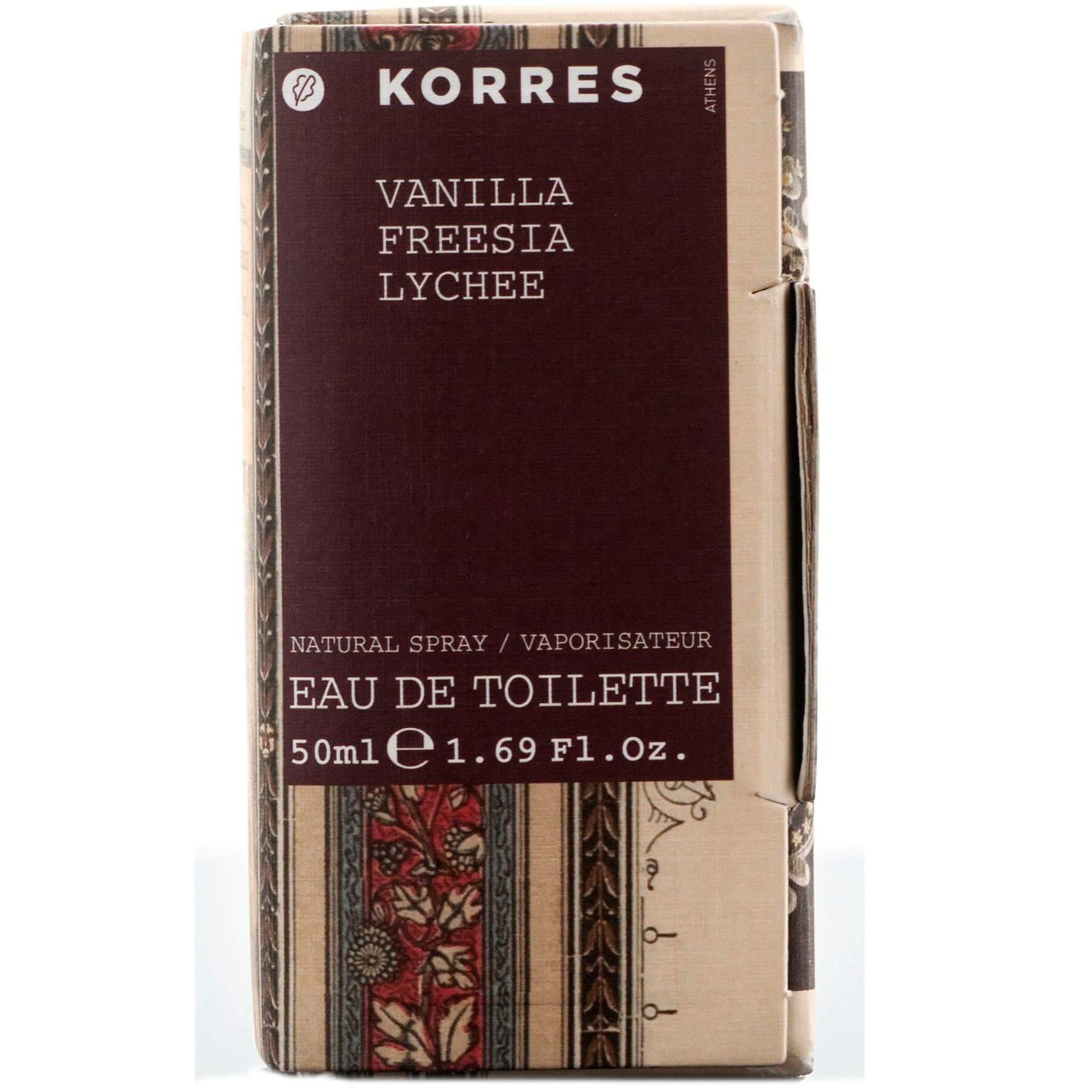 Korres Eau de Toilette Άρωμα Βανίλια Φρέζια Lychee 50ml ομορφιά   αρώματα   αρώματα για τη γυναίκα