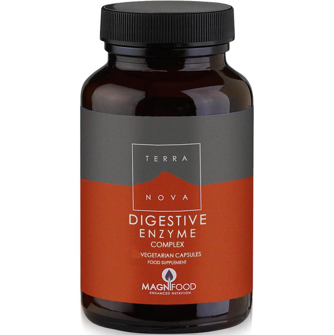 Terranova Digestive Enzyme Complex για τη Σωστή Πεπτική Λειτουργία 100caps