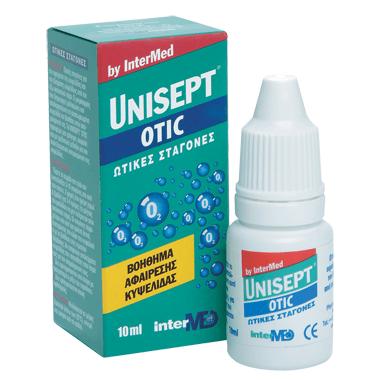 Intermed Unisept Otic Ωτικές Σταγόνες για την Αφαίρεση της Κυψελίδας 10ml