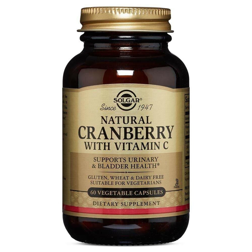 Solgar Cranberry Extract With Vitamin C 60veg.caps