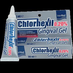 Chlorhexil 0.20% Gel Αντισηπτική Γέλη για την Αγωγή των Εντοπισμένων Κακώσεων της Στοματικής Κοιλότητας 30ml