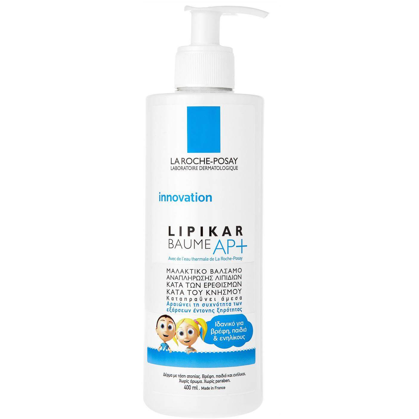 La Roche-Posay Lipikar Baume ΑP Μαλακτικό Βάλσαμο Αναπλήρωσης των Λιπιδίων – 400ml