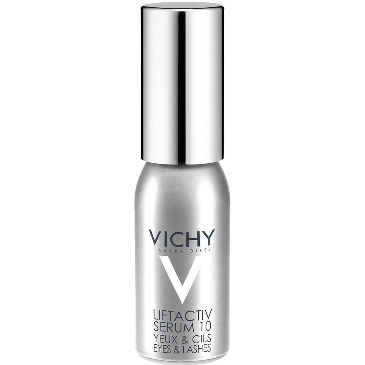 Vichy Liftactiv Derm Source Serum 10 Ορός για τα Μάτια και τις Βλεφαρίδες για Αποτέλεσμα Lifting και Νεανικό Βλέμμα 15ml
