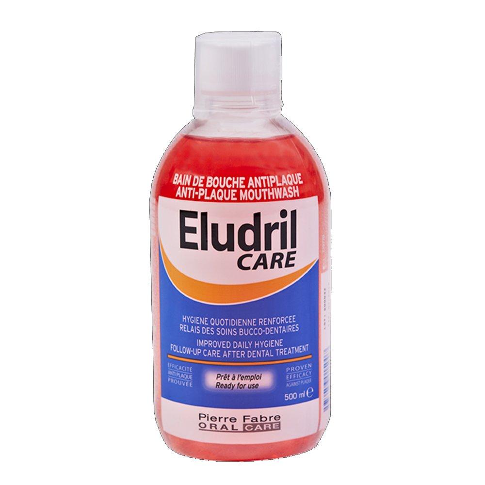 Eludril Care Διάλυμα για Στοματικές Πλύσεις Κατά της Πλάκας 500ml
