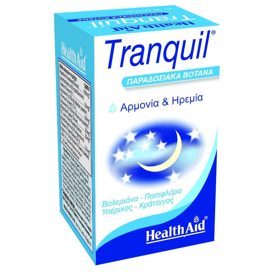 Health Aid Tranquil Φυτικός Ηρεμιστικός Συνδυασμός 30 Κάψουλες