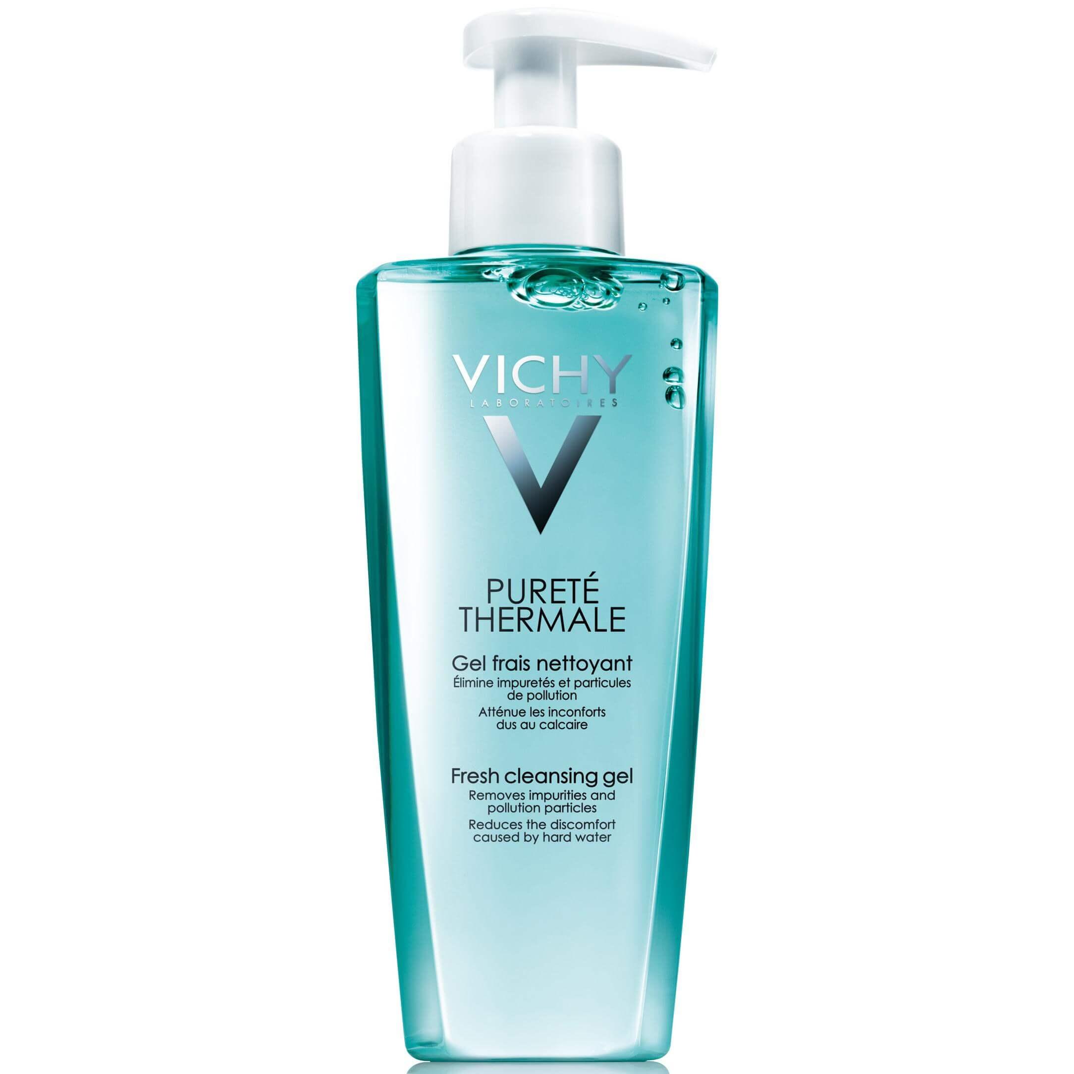 Vichy Purete Thermale Gel Nettoyant Δροσερό Gel Καθαρισμού Προσώπου 200ml
