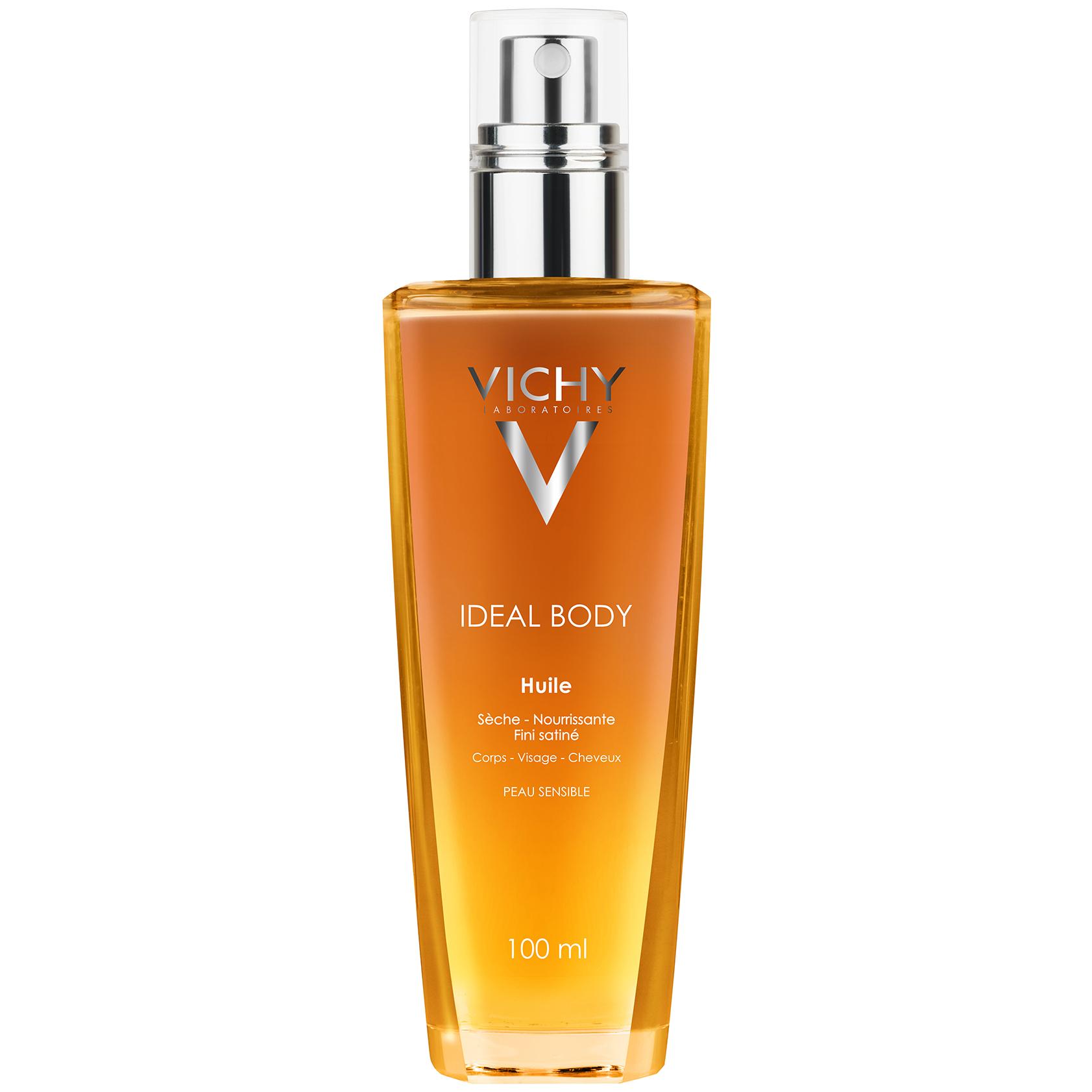 Vichy Ideal Body Ξηρό Λάδι Φροντίδας για Μαλλιά, Πρόσωπο &Σώμα 100ml υγιεινή   μαλλιά   μαλακτικά μάσκες ελιξίρια μαλλιών