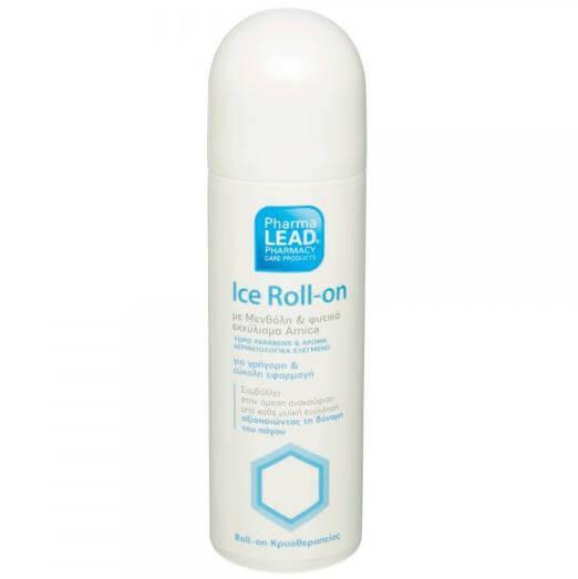 Pharmalead Ice Roll on Κρυοθεραπείας με Μενθόλη Covafresh & Φυτικό Εκχύλισμα Arnica 100ml