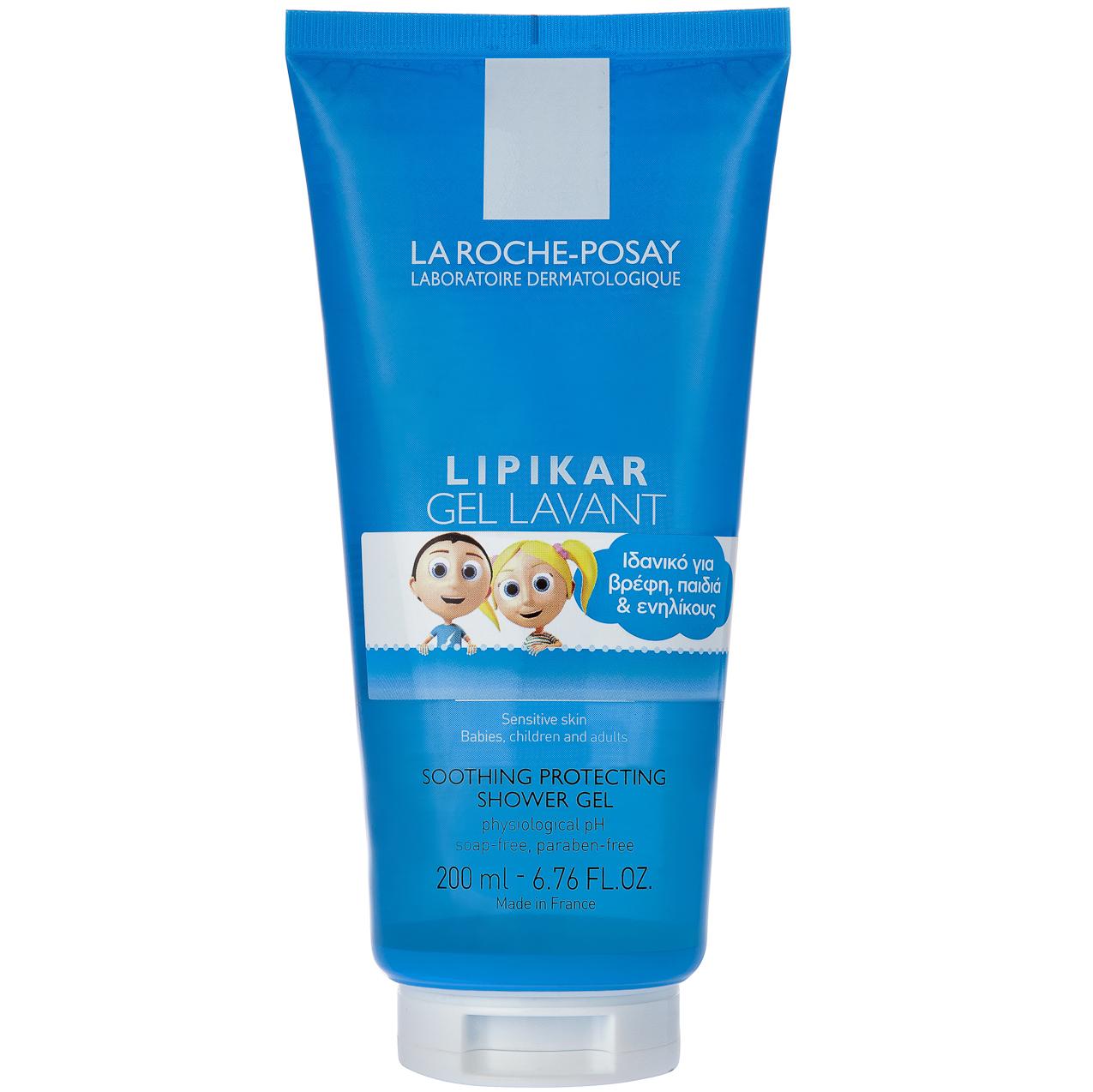 La Roche-Posay Lipikar Gel LavantΑπαλός Καθαρισμός & Προστασία Προσώπου & Σώματος – 200ml