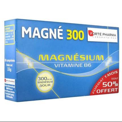 Forte Pharma Magne 300 Mgnesium & Vitamin B6 90Caps