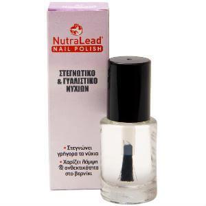 NutraLead Στεγνωτικό & Γυαλιστικό Νυχιών Στεγνώνει Γρήγορα τα Νύχια Χαρίζει Λάμψη & Ανθεκτικότητα στο Βερνίκι 12ml