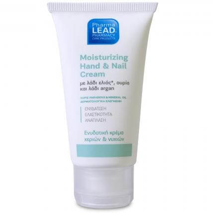Pharmalead Moisturizing Hand & Nail Cream Ενυδατική Κρέμα Χεριών & Νυχιών με Λάδι Ελιάς, Ουρία & Λάδι Argan 50ml