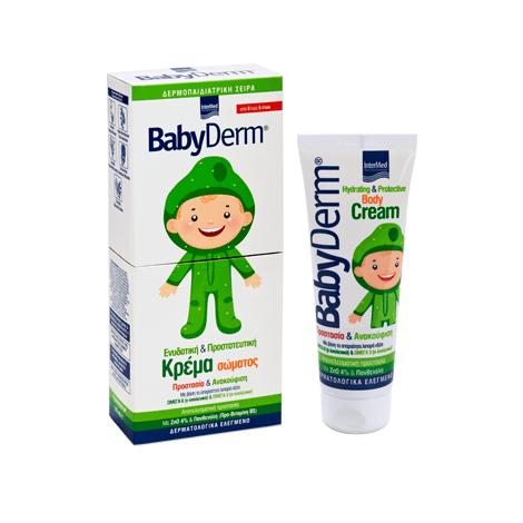 Babyderm Hydrating & Protective Cream Κρέμα της Καθημερινής Ενυδάτωσης-Προστασίας του Βρεφικού, Παιδικού Δέρματος 125ml