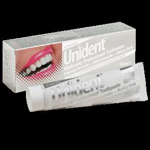 Unident Whitening Professional Toothpaste Λευκαντική Οδοντόκρεμα Ειδικά Σχεδιασμένη για Καθημερινή Χρήση 100ml