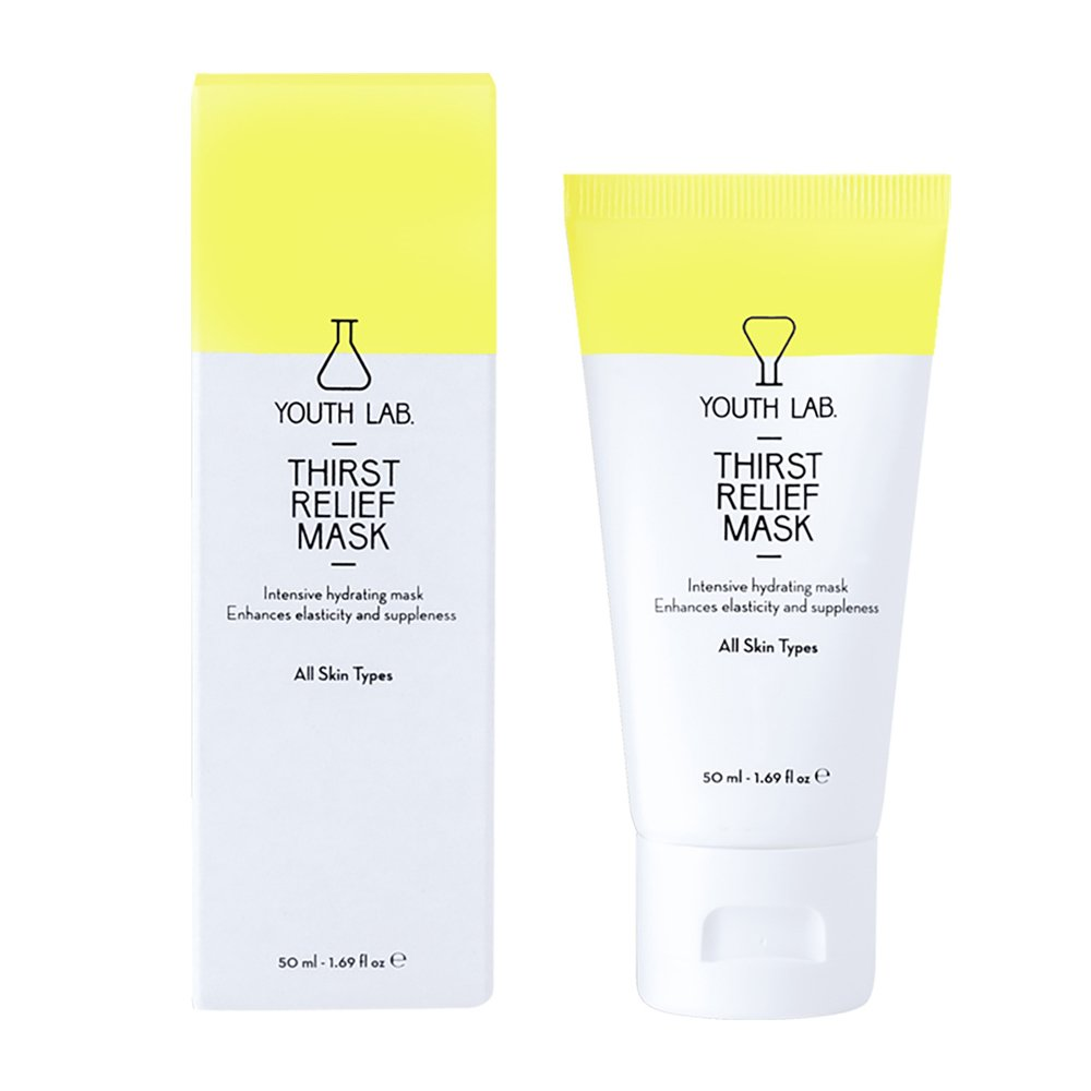 Youth Lab Thirst Relief Mask All Skin Types Μάσκα Εντατικής Ενυδάτωσης με Δράση έως και 6 Ώρες Μετά την Εφαρμογή 50ml