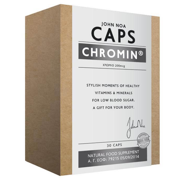 John Noa Chromin Δρα Στη Μείωση Της Κακής Χοληστερόλης 30 κάψουλες
