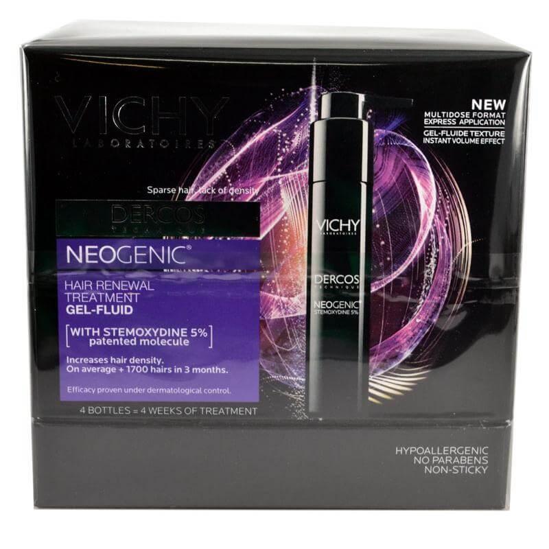 Vichy Dercos Neogenic Gel Fluide Αμπούλες Αναγέννησης των Μαλλιών, Αγωγή για Ανδ υγιεινή   μαλλιά   θεραπεία μαλλιών τριχόπτωση