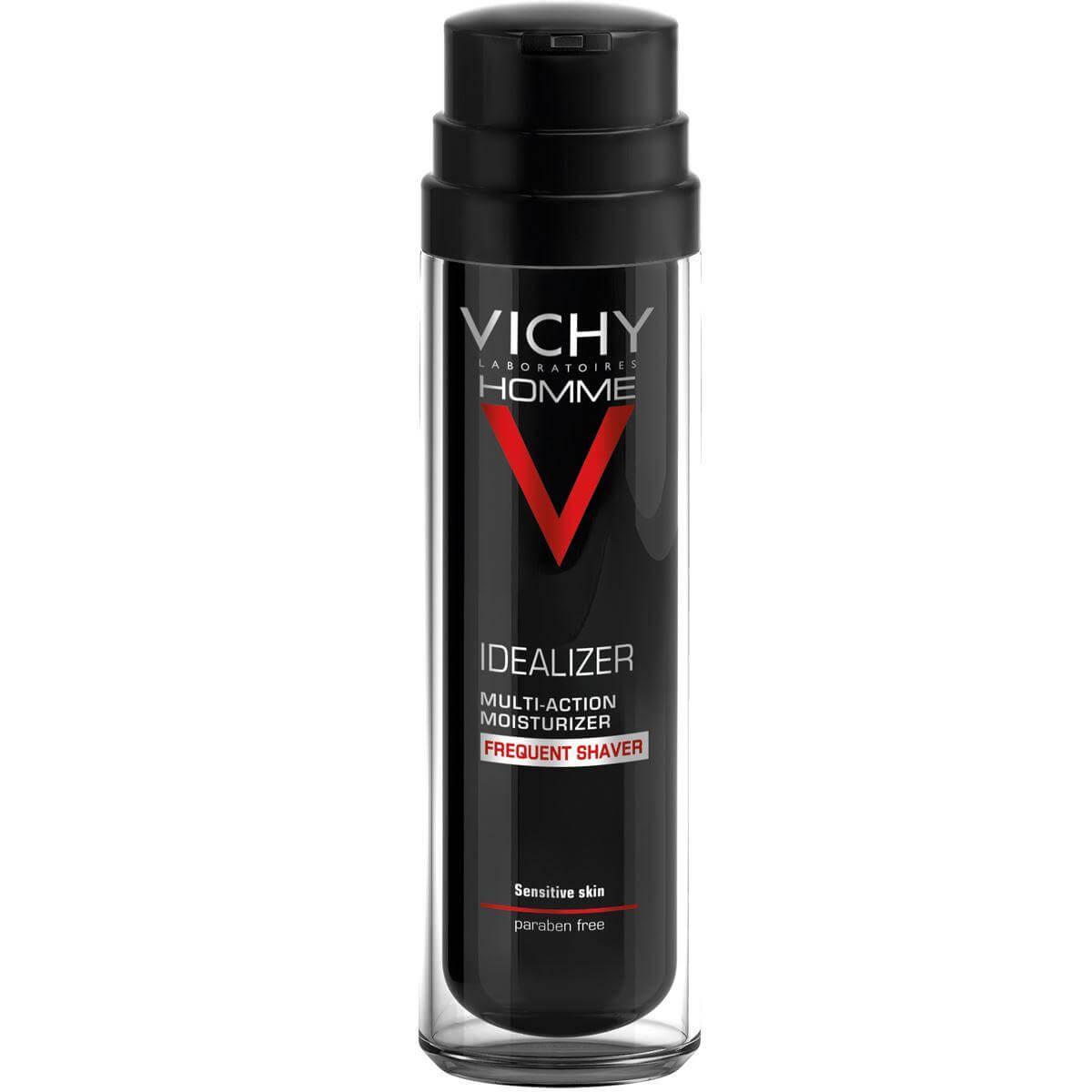 Vichy Homme Idealizer Multi Rasage Ενυδατική Κρέμα Πολλαπλών Δράσεων για Συχνό Ξύρισμα 50ml