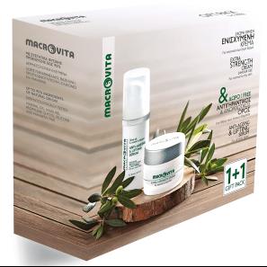 Macrovita Extra Cream 24ωρη Ενισχυμένη Κρέμα Κανονικό Ξηρό Δέρμα 40ml + Ξηρό Λάδι Προσώπου