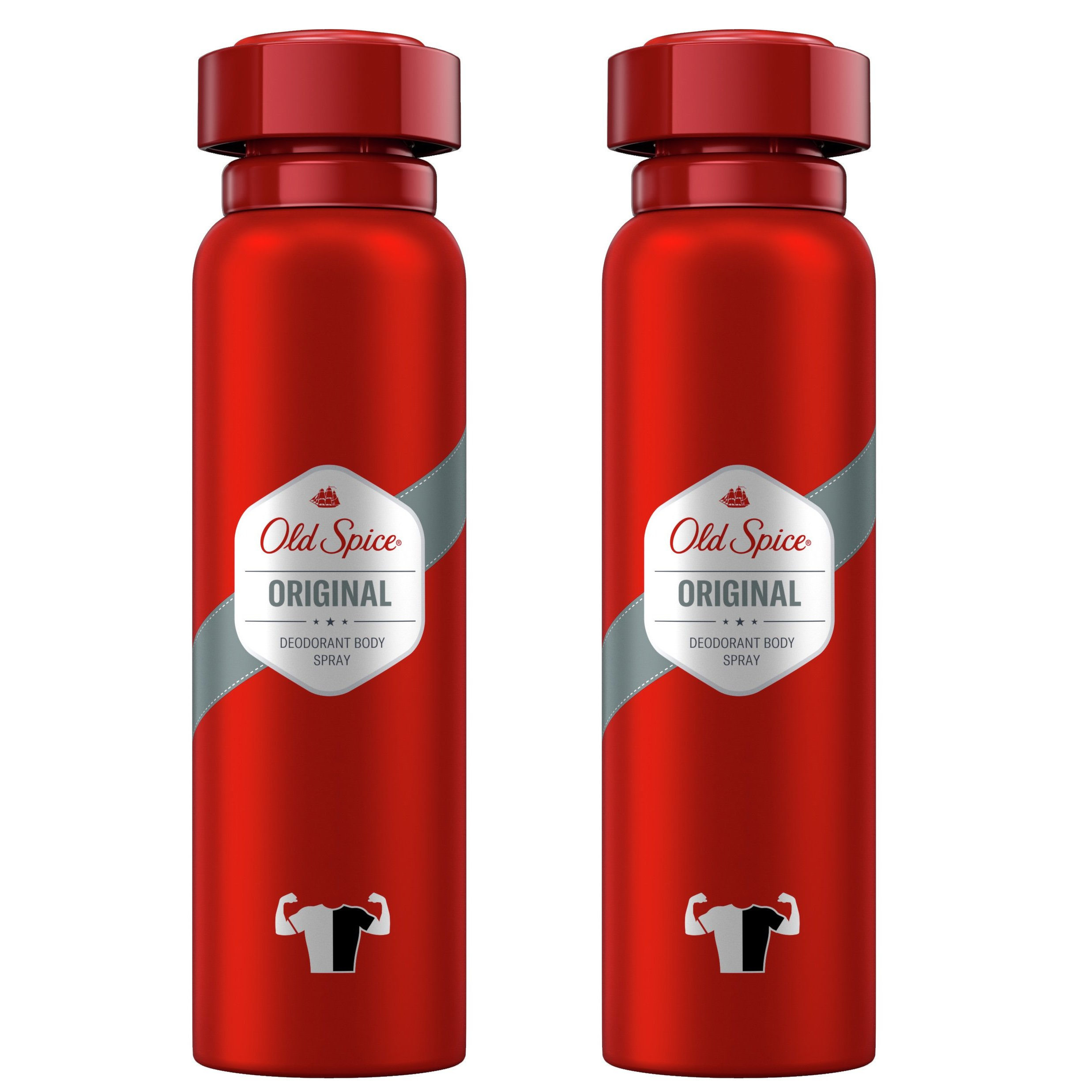 Old Spice Πακέτο Προσφοράς Original Deodorant Body Spray for Men Αποσμητικό με Αυθεντικό Άρωμα για Άνδρες 2x150ml