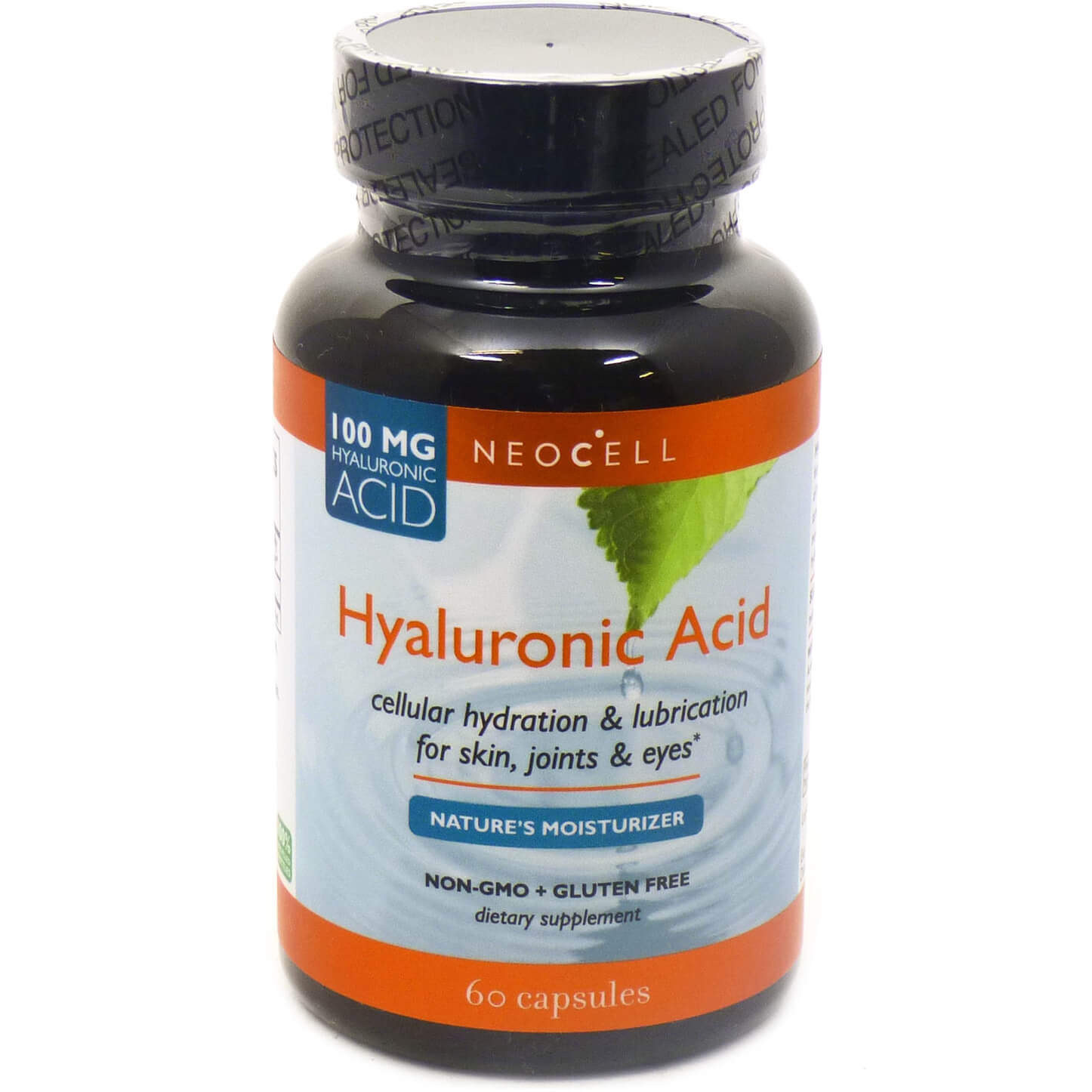 Neocell Hyaluronic Acid 100mg Υαλουρονικό Οξύ Μεγάλης Περιεκτικότητας 60 Caps