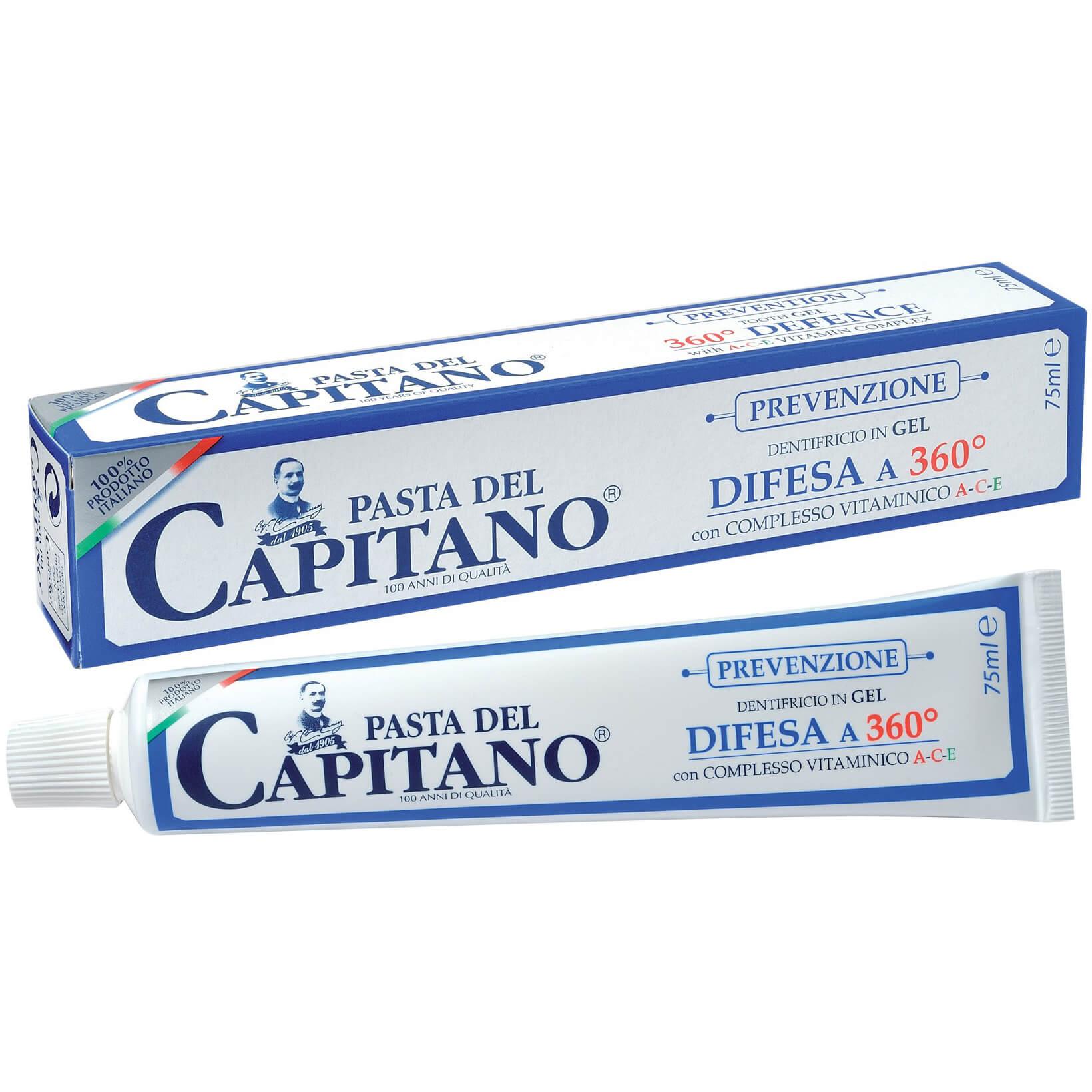 Pasta Del Capitano Οδοντόκρεμα Με Βιταμίνες A C E 75ml