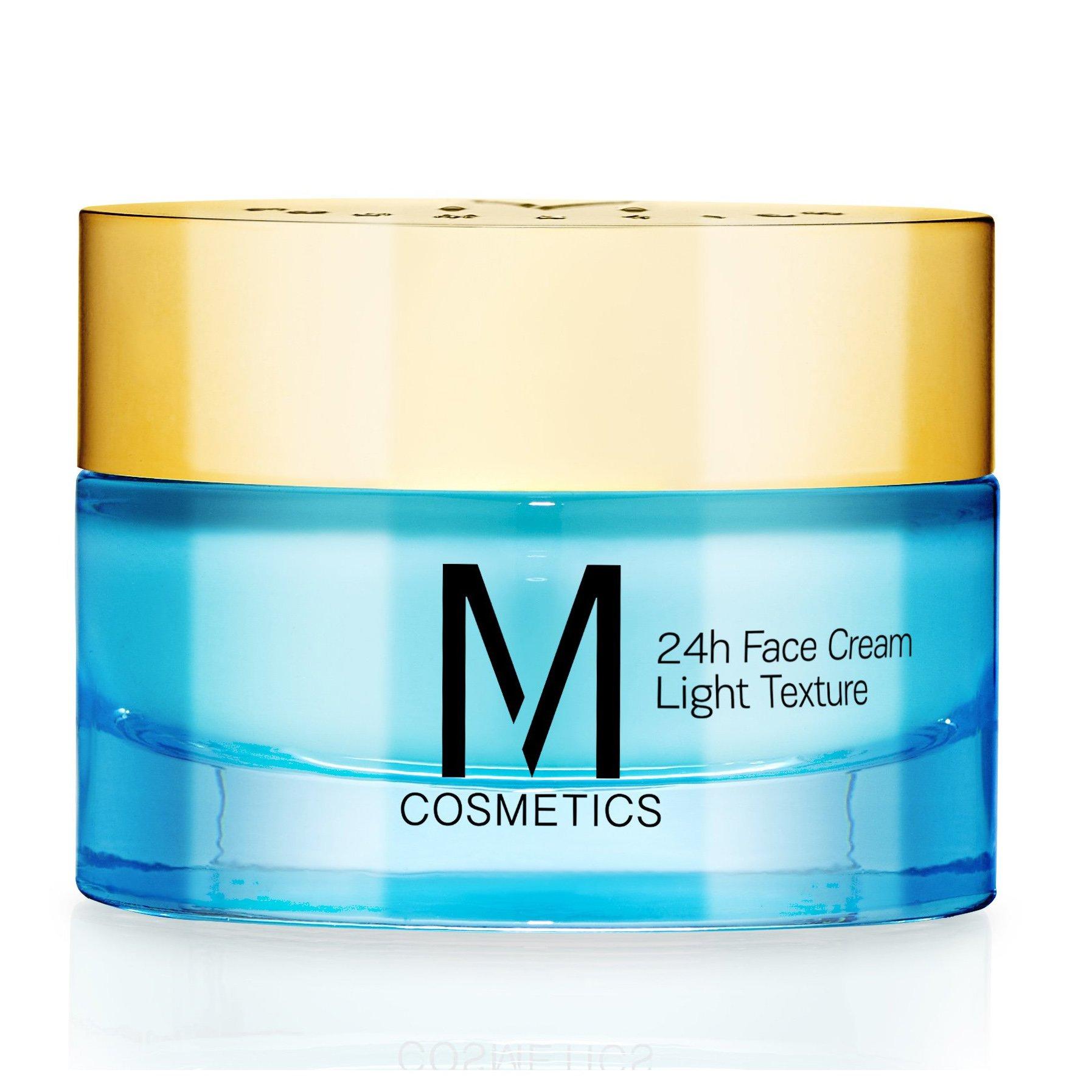 M Cosmetis 24h Face Cream Light Texture 24ωρη Κρέμα Προσώπου Ελαφριάς Υφής με Ολοκληρωμένη Αντιρυτιδική & Συσφικτική Δράση 50ml
