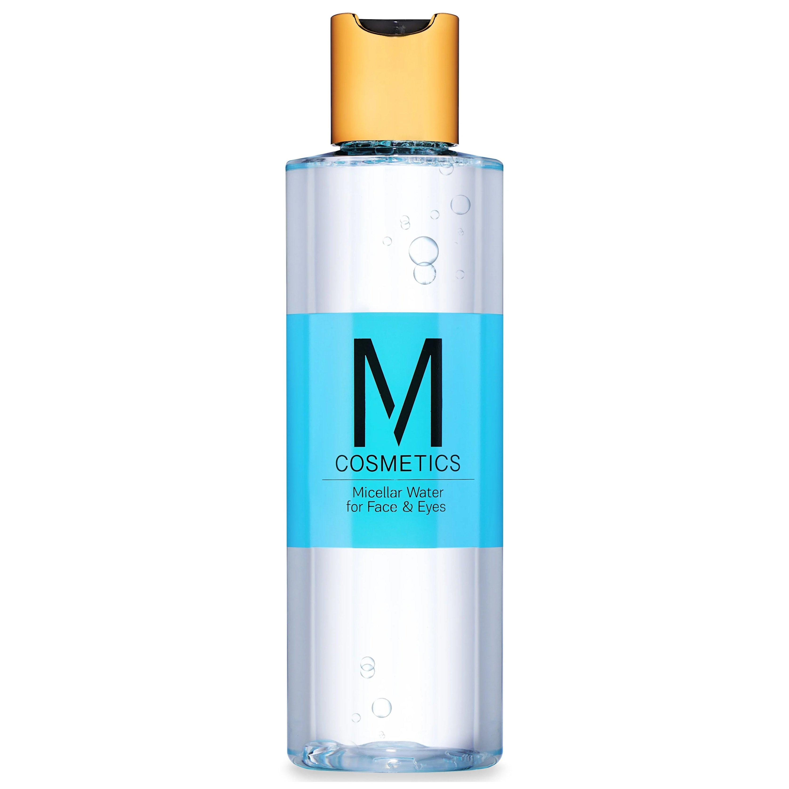M Cosmetis Micellar Water For Face & Eyes Νερό Καθαρισμού & Ντεμακιγιάζ Προσώπου Ματιών, με Μικυλιακούς Παράγοντες 200ml