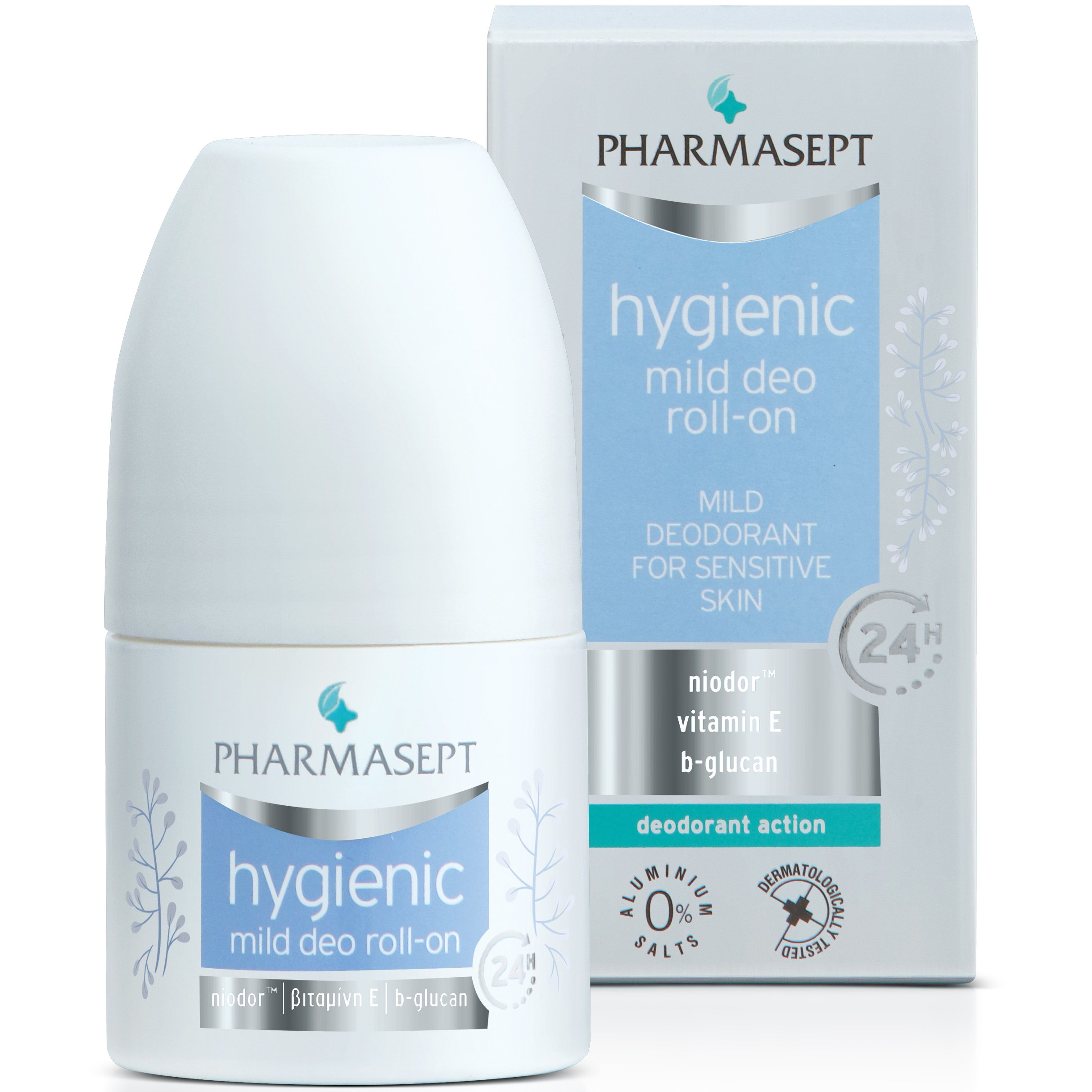 Pharmasept Hygienic Mild Deo 24h Roll-On Απαλό Αποσμητικό για Ευαίσθητες Επιδερμίδες 50ml