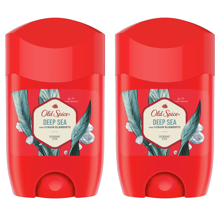 Old Spice Πακέτο Προσφοράς Old Spice Deep Sea Deodorant Stick Αποσμητικό Στικ για Άνδρες 2x50ml