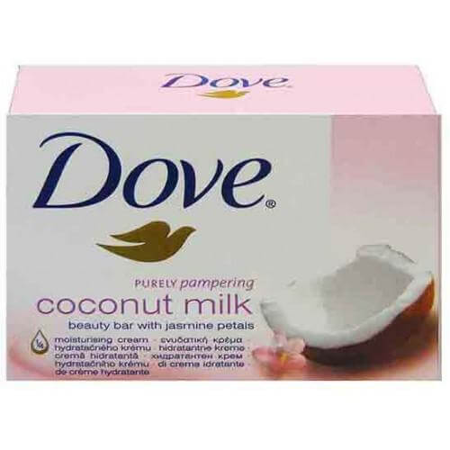 Dove Coconut Milk Σαπούνι 3+1 Δώρο 4x100gr