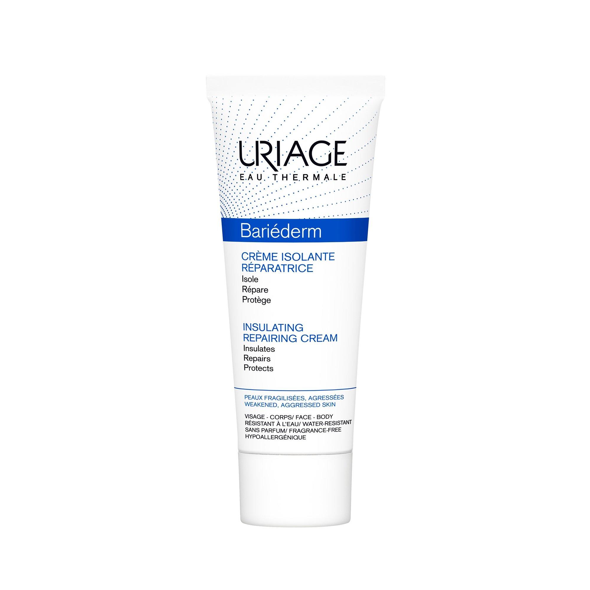 Uriage Bariederm Insulating Repairing Cream Παρέχει στο Δέρμα μια Αποτελεσματική Ασπίδα Προστασίας 75ml