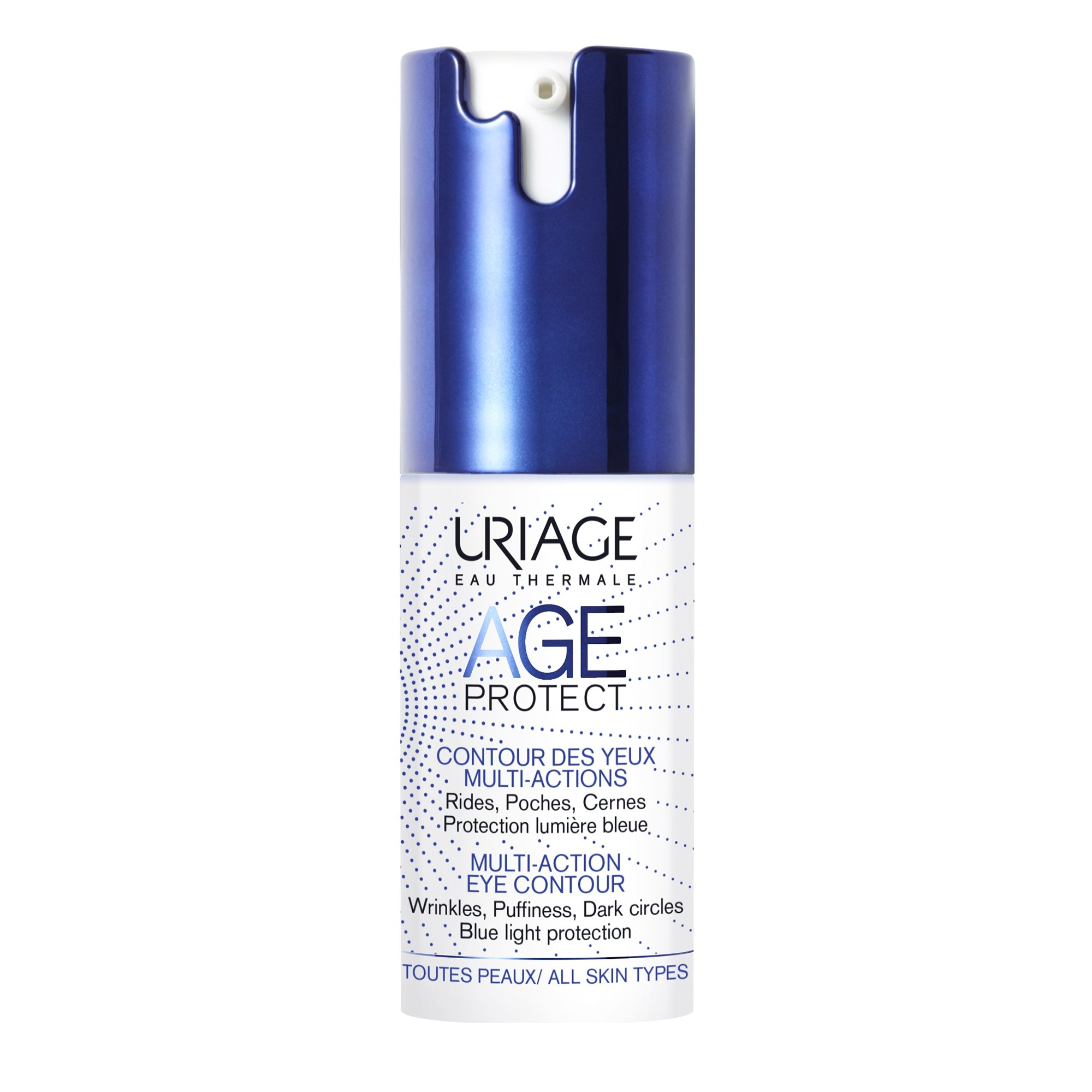 Uriage Eau Thermale Age Protect Multi Action Eye Contour Διορθώνει τα Σημάδια Γήρανσης 15ml