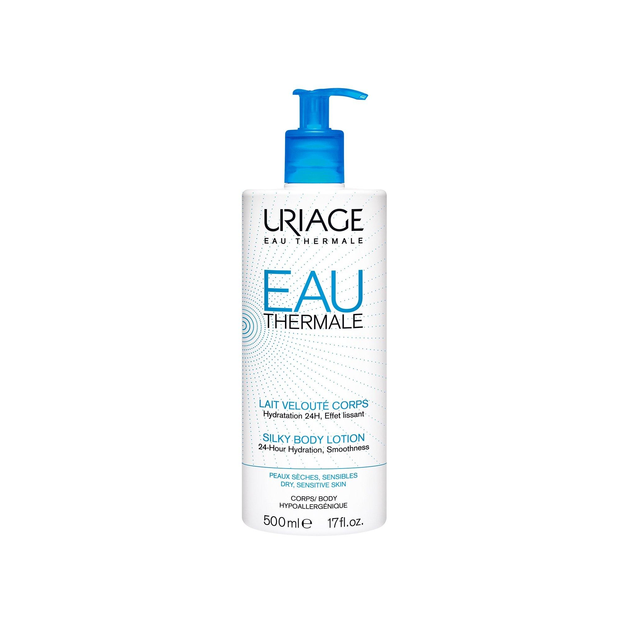Uriage Eau Thermale Silky Body Lotion Ενυδατώνει Εντατικά για 24 ώρες 500ml
