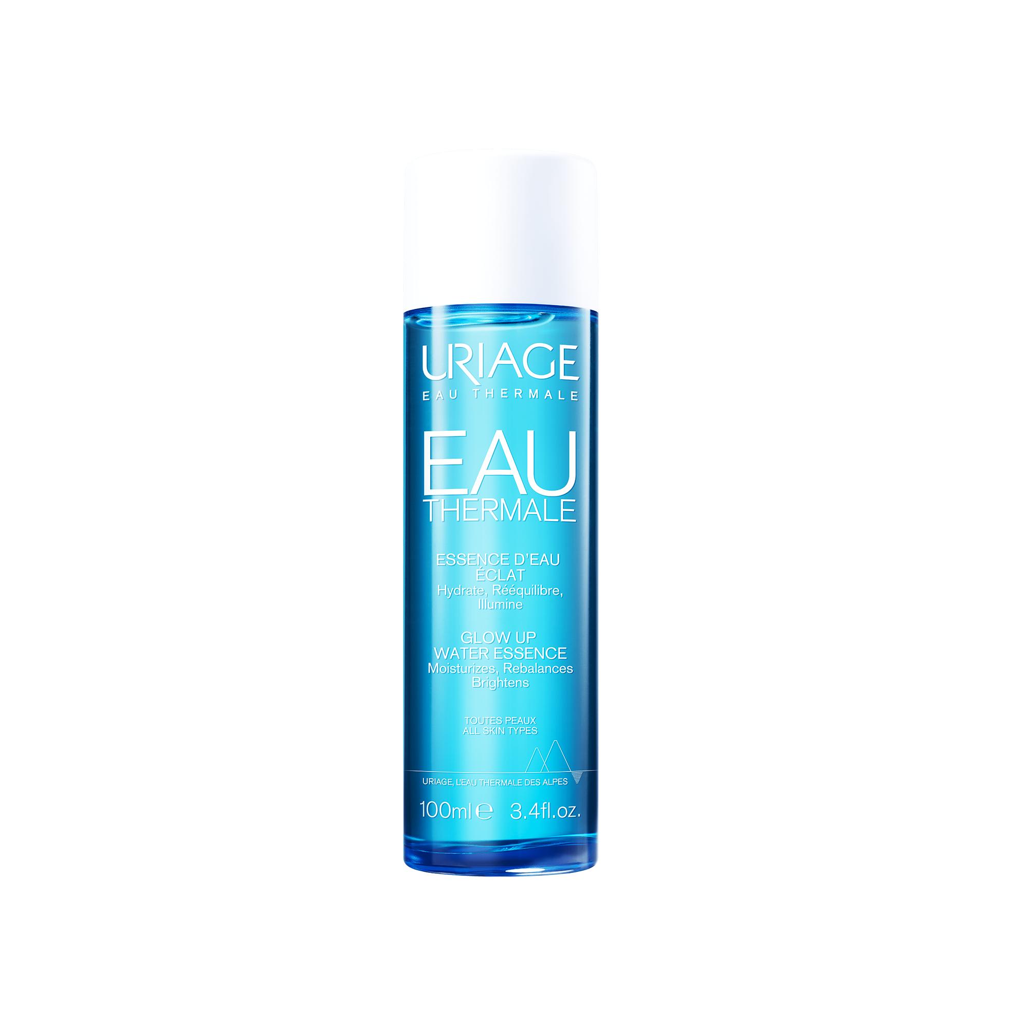 Uriage Eau Thermale Glow up Water Essence Χαρίζει Εντατική Ενυδάτωση Αποκαλύπτοντας τη Φυσική Λάμψη του Δέρματος 100ml