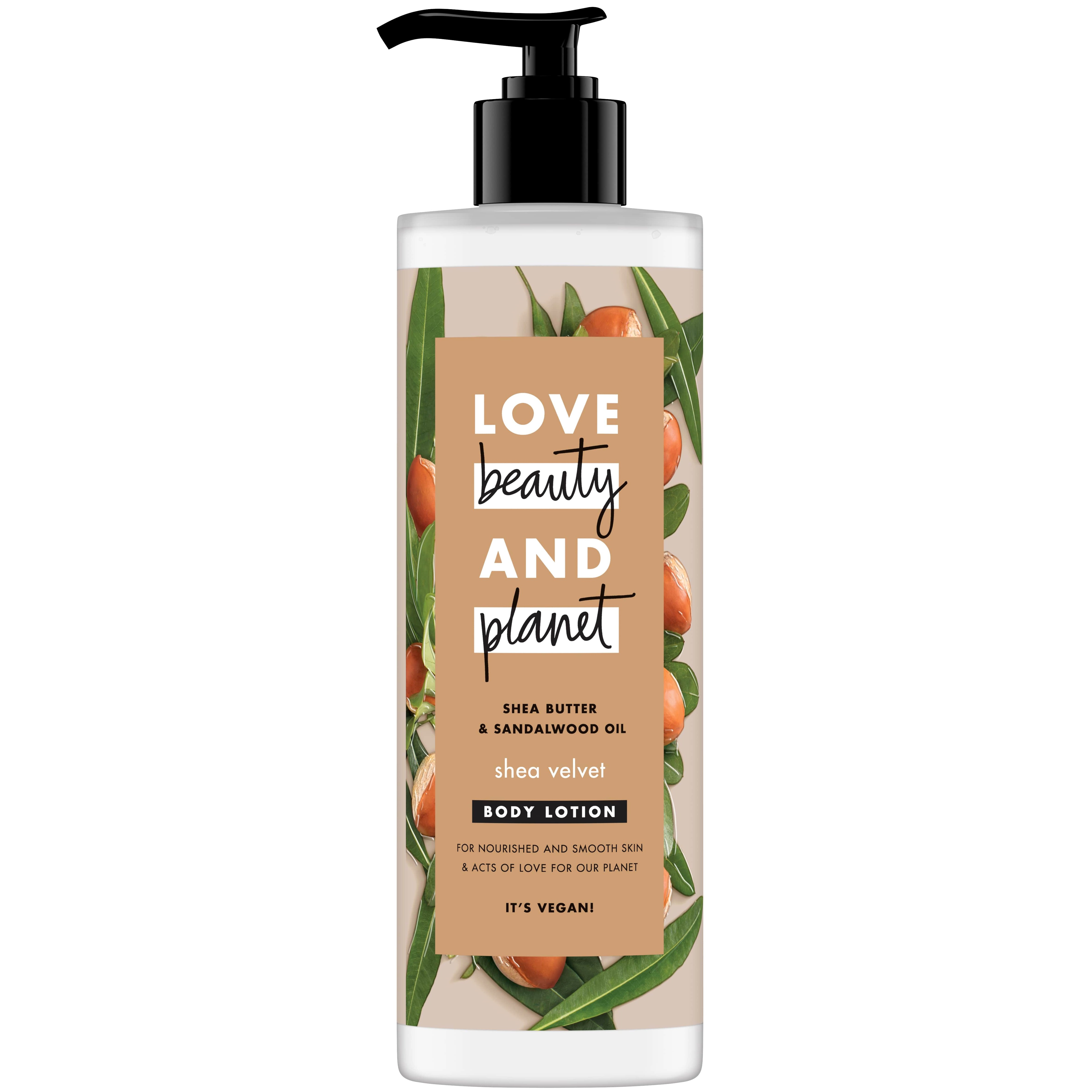 Love Beauty and Planet Shea Butter & Sandalwood Oil Body Lotion, Λοσιόν Σώματος 400ml