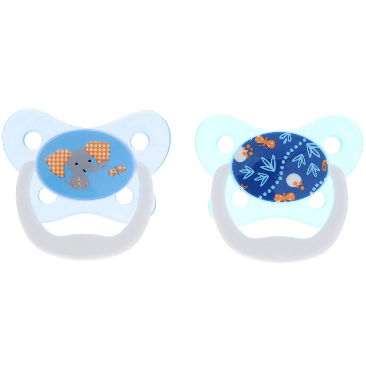 Dr Browns Prevent Πιπίλα Πεταλούδα Ορθοδοντική Μπλε Σιλικόνης 6-12m, 22402
