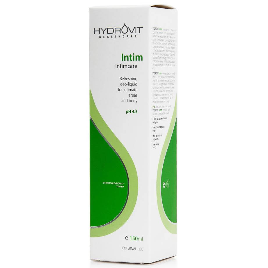 Hydrovit Intim Intimcare Ph 4,5 για την Ευαίσθητη Περιοχή και το Σώμα 150ml