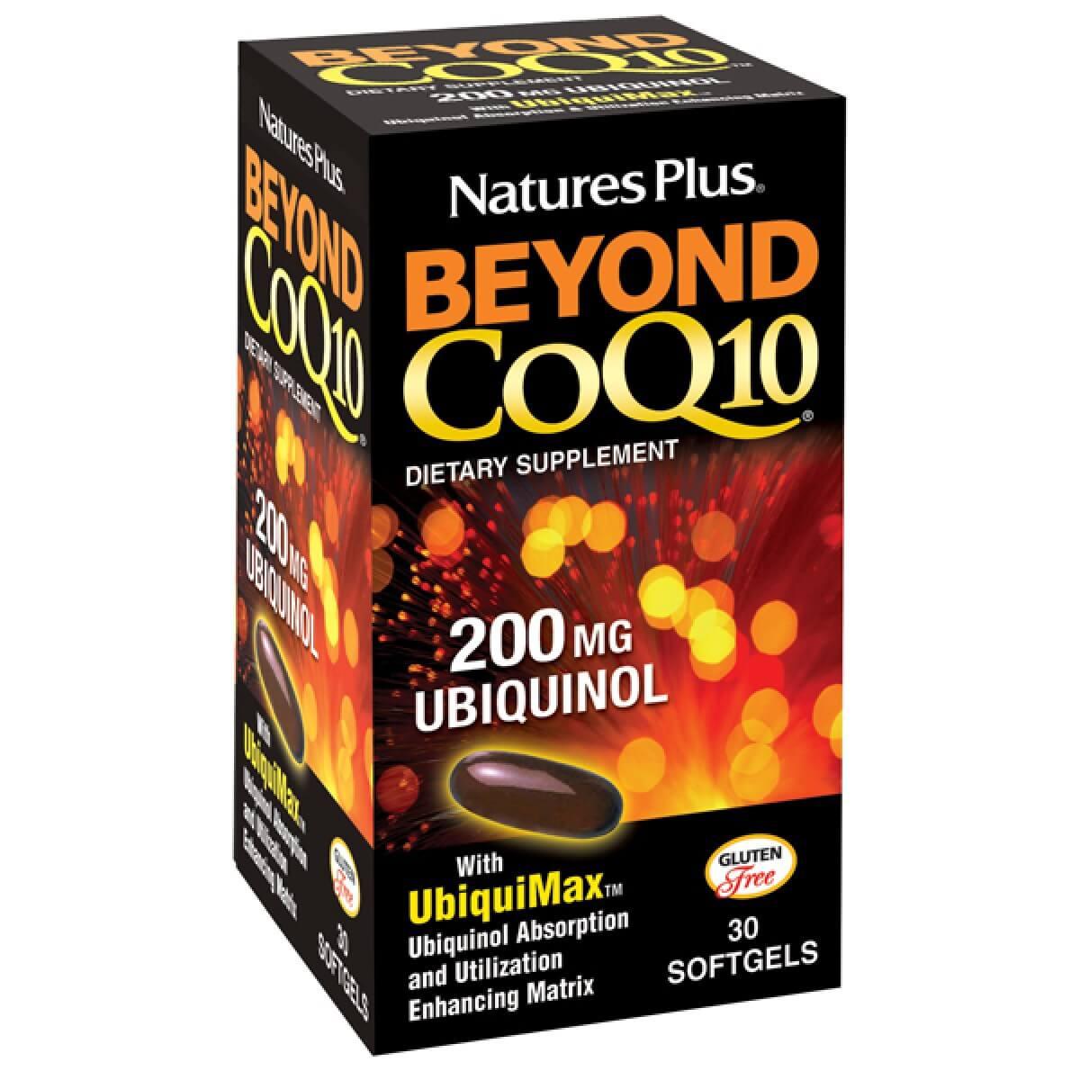 Natures Plus Beyond CoQ10 200mg Συμπλήρωμα Διατροφήςγια Καλύτερη Απορρόφηση &Βιοδιαθεσιμότητα 30 Softgels