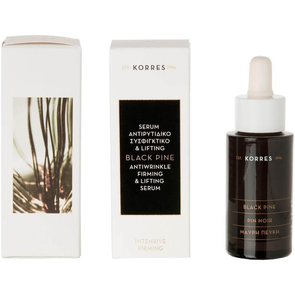 Korres Μαύρη Πεύκη Αντιρυτιδικό Συσφιγκτικό & Lifting Serum Προσώπου για Όλους τους Τύπους Δέρματος 30ml