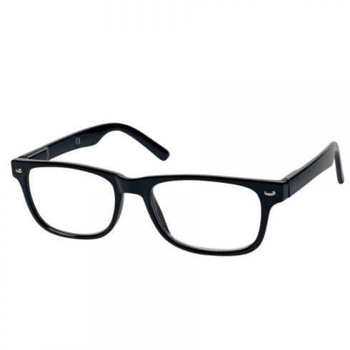 Eyelead Γυαλιά Διαβάσματος Unisex με Μαύρο Κοκκάλινο Σκελετό E144 – 1,00