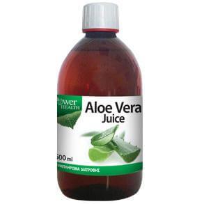 Power Health Aloe Vera Juice Αντιοξειδωτικός Χυμός Αλόης Υψηλής Καθαρότητας 500 ml