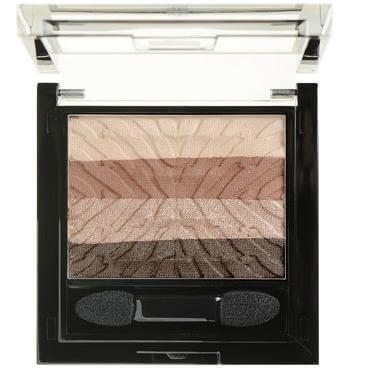 Korres Black Volcanic Minerals Eyeshadow Palette Warm Nude Μεγάλης Διάρκειας Σκιές Ματιών 5.5 ml