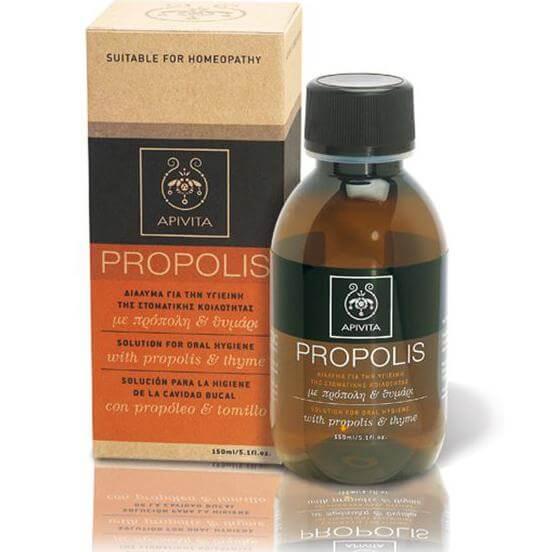 Apivita Propolis Βιολογικό Σιρόπι Λαιμού με Πρόπολη & Θυμάρι 150ml