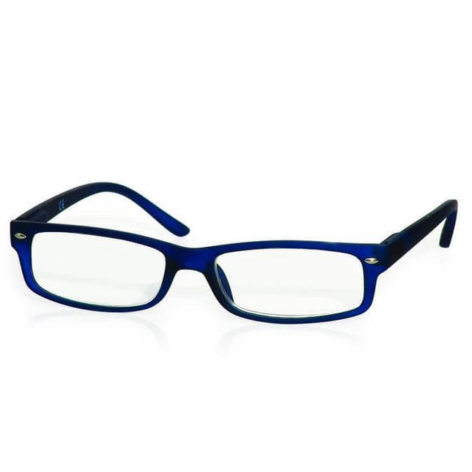 Γυαλιά Διαβάσματος Κοκκάλινα σε Μπλέ Χρώμα με Ειδική Θήκη Φύλαξης – 4,00