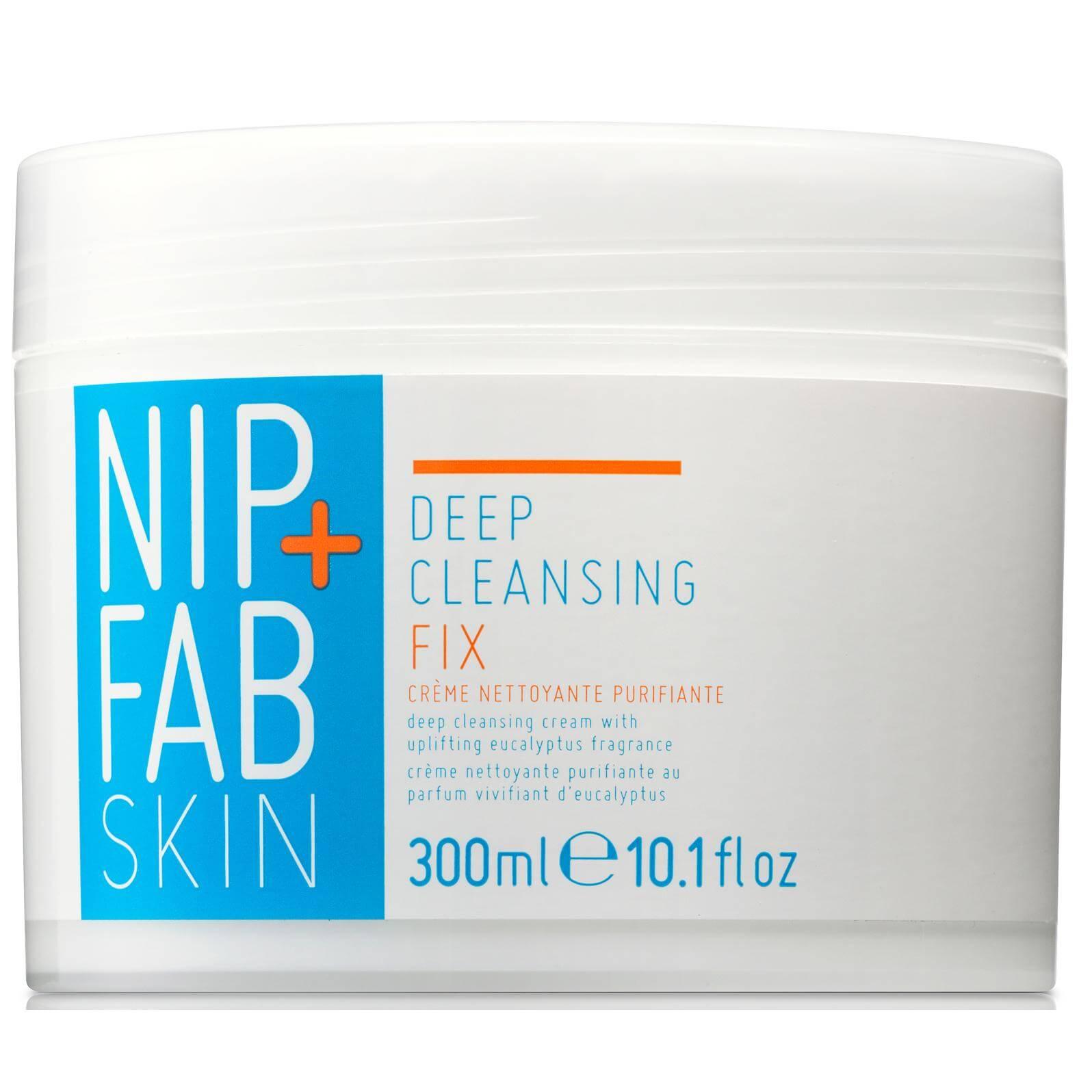 Nip + Fab Deep Cleansing Fix Πολυχρηστική Kρέμα Kαθαρισμού για το Πρόσωπο που Αφαιρεί το Μακιγιάζ & Εξυγιαίνει το Πρόσωπο 300ml