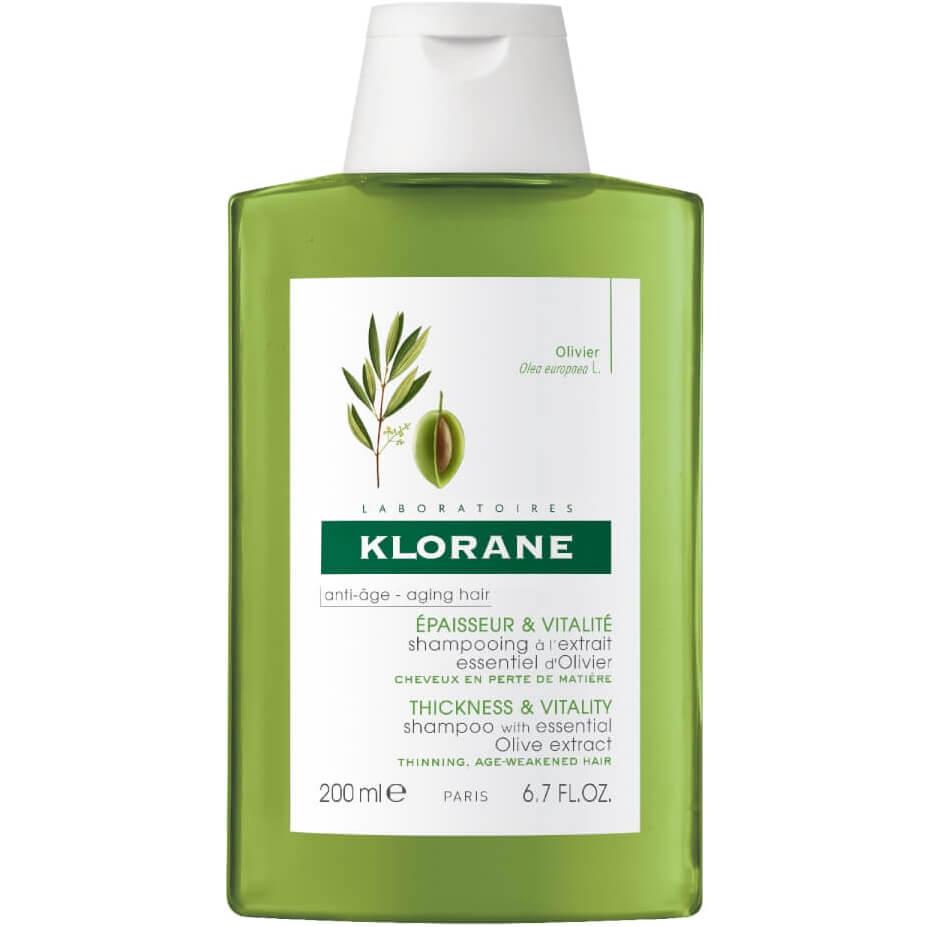 Klorane Shampooing Εxtrait Essentiel Olivier Αντιγηραντικό Σαμπουάν Πυκνότητας & Αναζωογόνησης 200ml Promo -25%