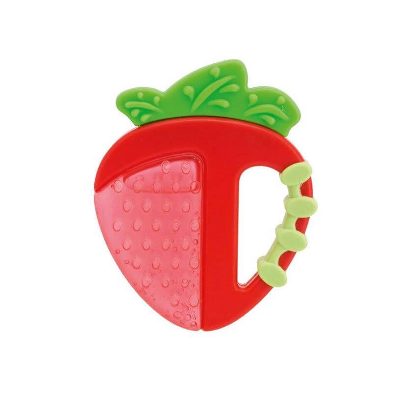 Chicco Δροσιστικός Κρίκος Οδοντοφυίας Φράουλα 4m+